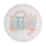 Denby Walled Garden Round Placemats Set of 6