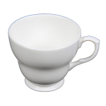 Duchess China White - Large Breakfast Cup