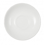 Duchess China White - Large Breakfast Saucer 15cm