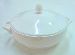 Duchess China White - Covered Vegetable Serving Dish