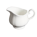 Duchess China White - Cream Jug (Coffee) Small Size