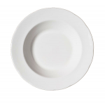 Duchess China White - Rimmed Soup 22cm
