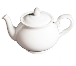 Duchess China White - Teapot Medium 4 cup