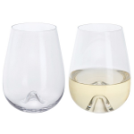 Dartington Wine and Bar Stemless White Wine Pair