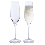 Dartington Wine and Bar Champagne Flute Pair