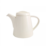 Fairmont & Main White Linen Tea Pot
