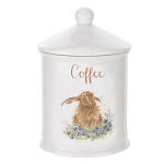 Royal Worcester Wrendale Designs - Canister Coffee - Hare