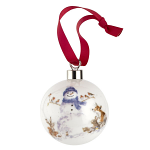 Royal Worcester Wrendale Designs - Christmas Bauble - Gathered Around