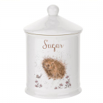 Royal Worcester Wrendale Designs - Cannister - Sugar - Hedgehog