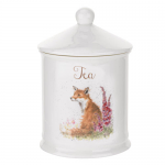 Royal Worcester Wrendale Designs - Cannister - Tea - Fox