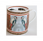 Robert Fuller - Greater Spotted Woodpecker Bone China Mug