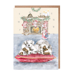 Wrendale Designs - Advent Calendar Card - All I Want for Christmas