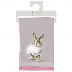 Wrendale Designs Hare Winter Scarf - Mountain Hare