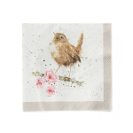 Wrendale Designs - Napkins - Cocktail - Garden Birds