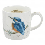 Royal Worcester Wrendale Designs - Mug - King of the River Kingfisher