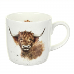 Royal Worcester Wrendale Designs - Mug - Highland Cow - 'Highland Coo'