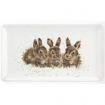 Royal Worcester Wrendale Designs - Tray Rectangular - Rabbits
