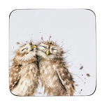 Royal Worcester Wrendale Designs - Coasters - Owl - Set of 6