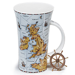 Dunoon Shipping Forcast Large Mug Glencoe Shape Boxed
