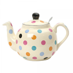 London Pottery Farmhouse Filter Teapot 2 Cup Multicolour Spot