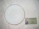 Duchess China Gold Edge - Breakfast Saucer 15cm