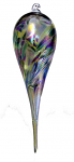 Amelia Glass Birthstone Teardrop - May Purple Aqua Gold