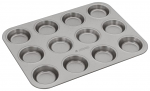 Judge Bakeware - Bun Tin 12 cup 35.5x27x1.5cm