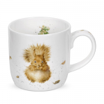 Royal Worcester Wrendale Designs - Mug - Red Squirrel - Treetops Redhead