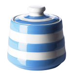 Cornishware - Cornish Blue - Covered Sugar Bowl 10cm x 10cm