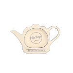 T&G Pride of Place Tea Bag Tidy in Old Cream