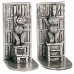 Royal Selangor Teddy Bears Picnic Bookends - Library Pair
