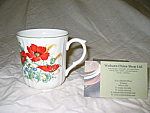 Duchess China Poppies - Panel Mug