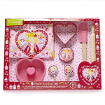 Cooksmart Princess Cupcake 9 Piece Baking Set