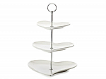 Maxwell & Williams - White Basics Heart 3 Tier Cake Stand