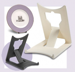 Leeds Display Clip Stand Large Ivory Twin Pack