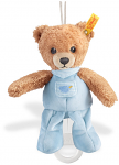 Steiff Sleep Well Bear Music Box 20cm Blue