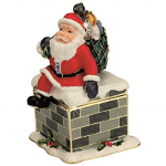 Craycombe Trinket Box - Santa & Chimney