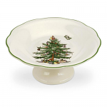 Spode Christmas Tree - Sculpted Footed Candy Dish