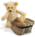 Steiff Charly Dangling Teddy Bear 28cm in Suitcase