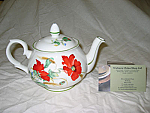 Duchess China Poppies - Teapot Small 2 cup
