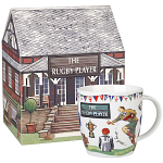 At Your Leisure - The Rugby Player Mug in Giftbox