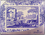 Pimpernel Blue Italian Placemats Set of 6