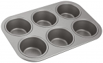 Judge Bakeware - Cupcake/Muffin Tin 6 cup 27x18.5x3.5cm
