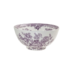 Burleigh Plum Asiatic Pheasant Chinese Bowl Medium 20cm