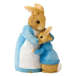 Border Fine Arts - Beatrix Potter - Mrs Rabbit and Peter
