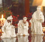 Belleek Living Classic Christmas - Three Kings Set