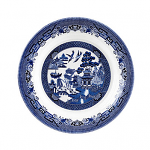 Churchill China Blue Willow Pasta Dish 28.5cm