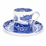 Spode Blue Italian - Coffee Cup & Saucer