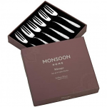 Arthur Price Monsoon Mirage Pastry Forks - Set of 6 Hammered Finish