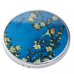 Hokusai - Bird Flowers - Pocket or Handbag Mirror